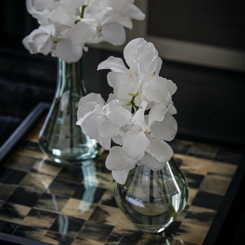 bloom - Green Glass Bud Vase