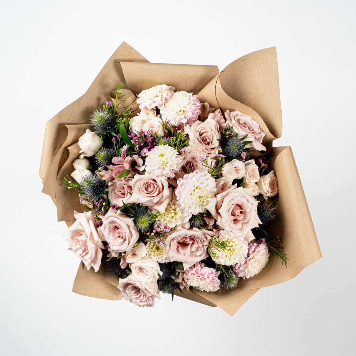 Bloom Flower Delivery | Caramel Mirage Bouquet