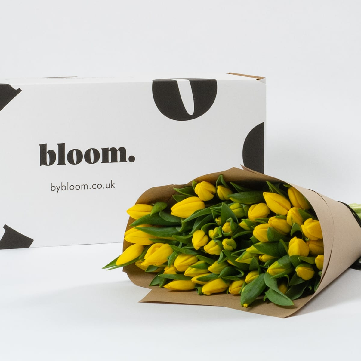 Bloom Flower Delivery | Goldfinch Yellow Tulips