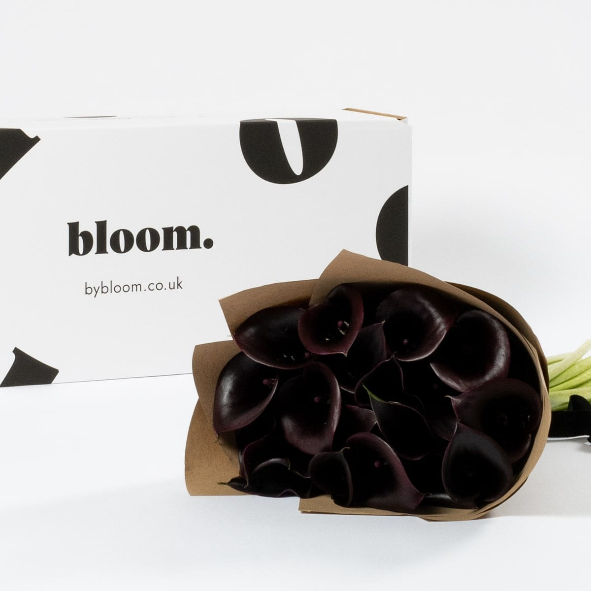 Bloom Flower Delivery | Ebony Black Calla Lily
