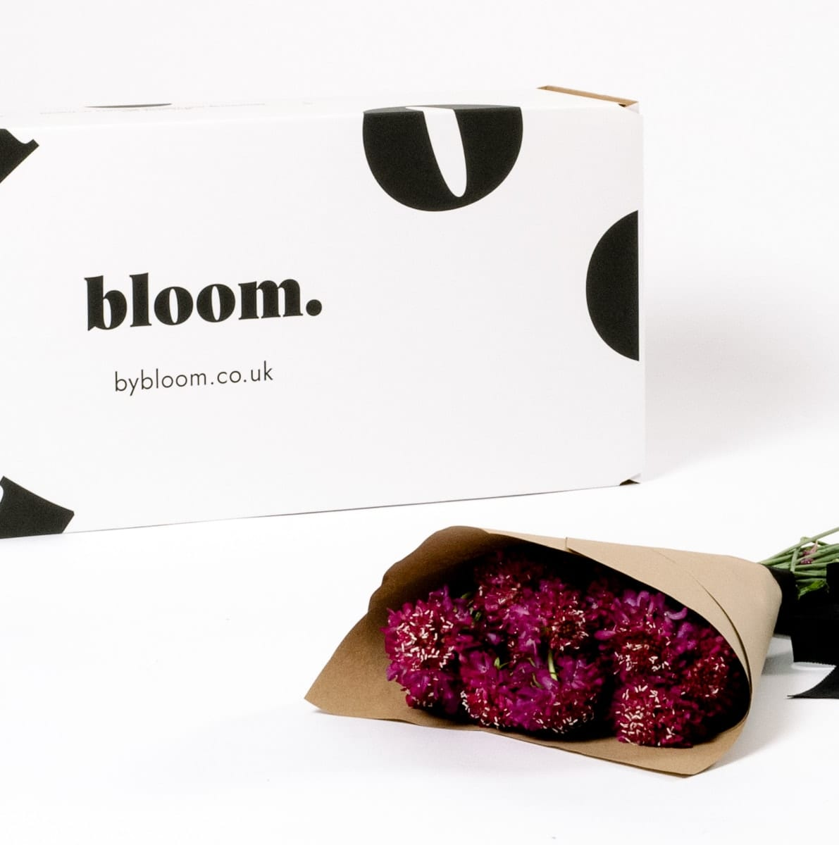Bloom Flower Delivery | Raspberry Pink Scabiosa