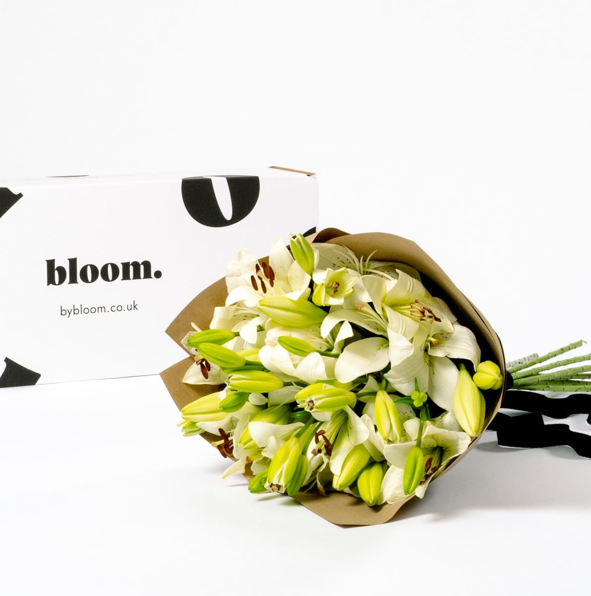 Bloom Flower Delivery | Porcelain White Lily