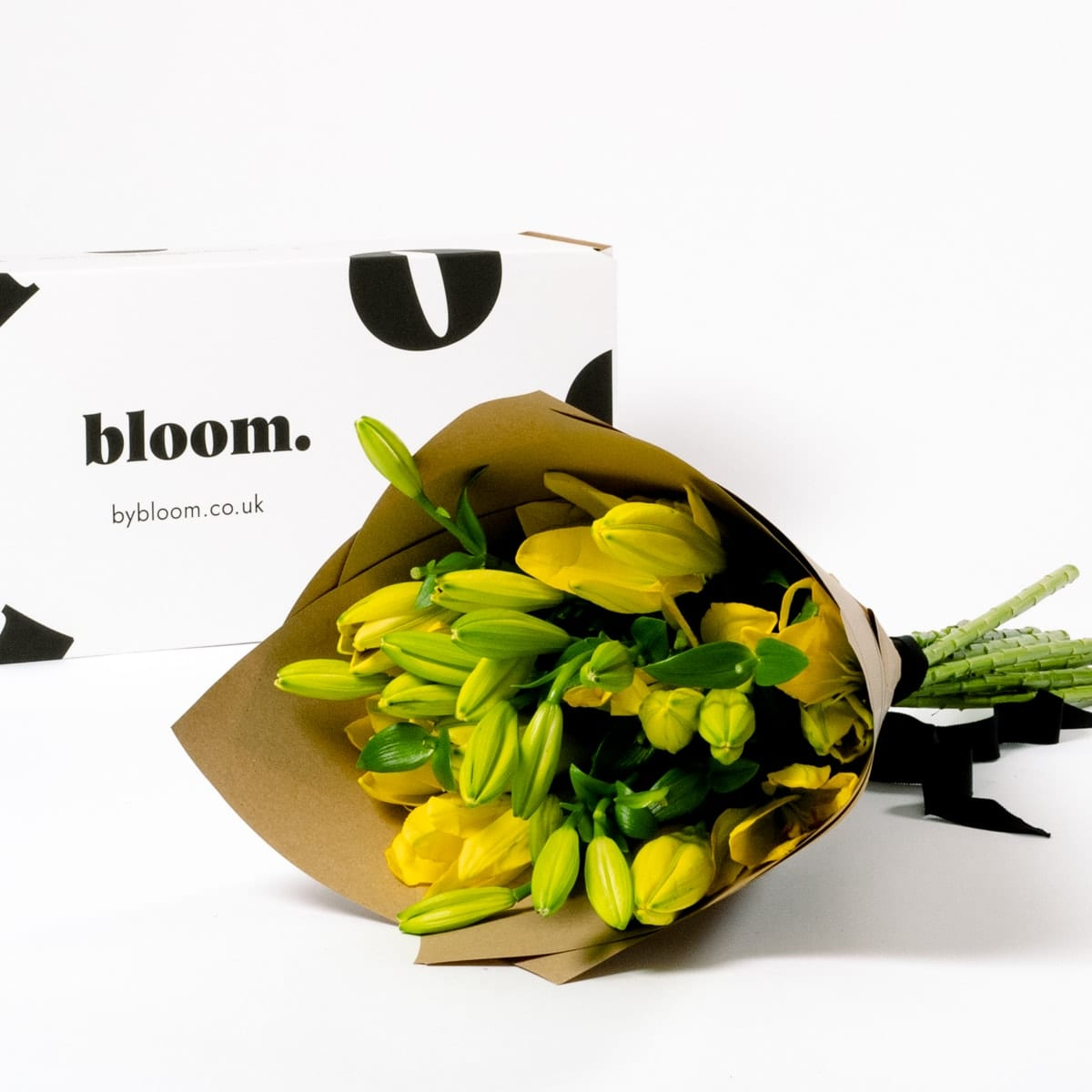 Bloom Flower Delivery | Canary Yellow Lily