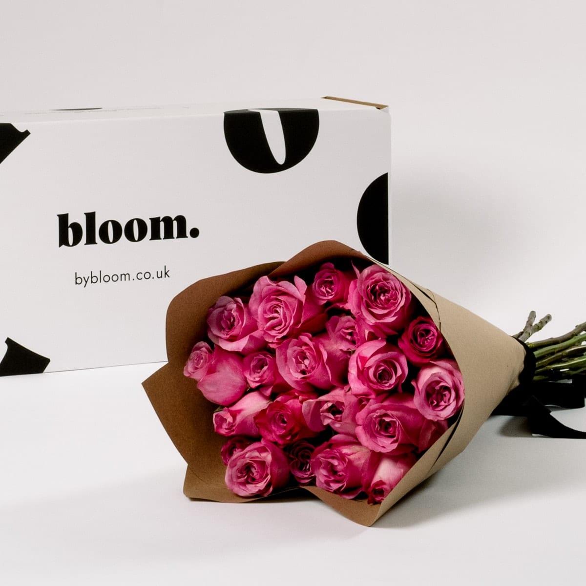 Bloom Flower Delivery | Cerise Pink Rose