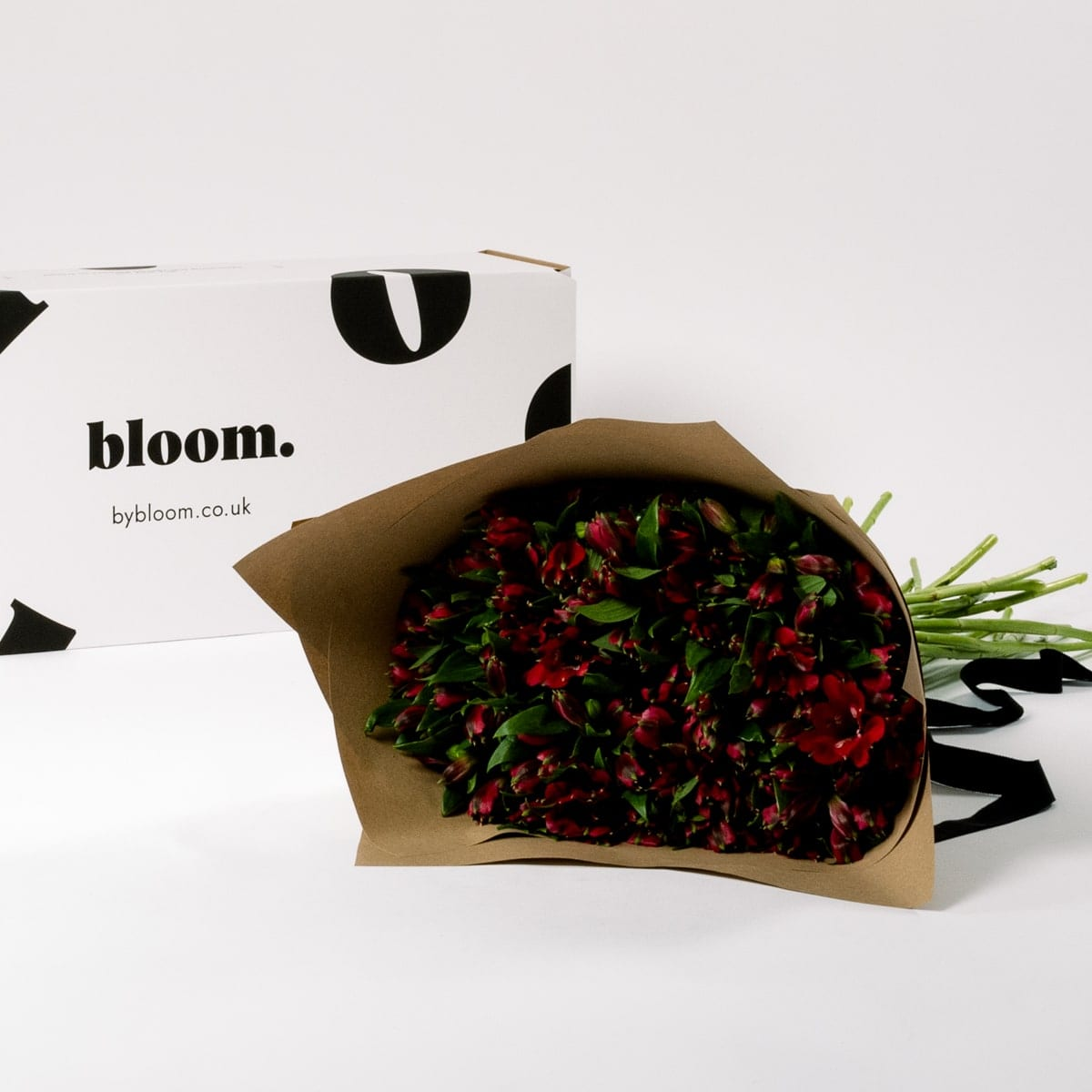 Bloom Flower Delivery | Bordeaux Red Alstroemeria