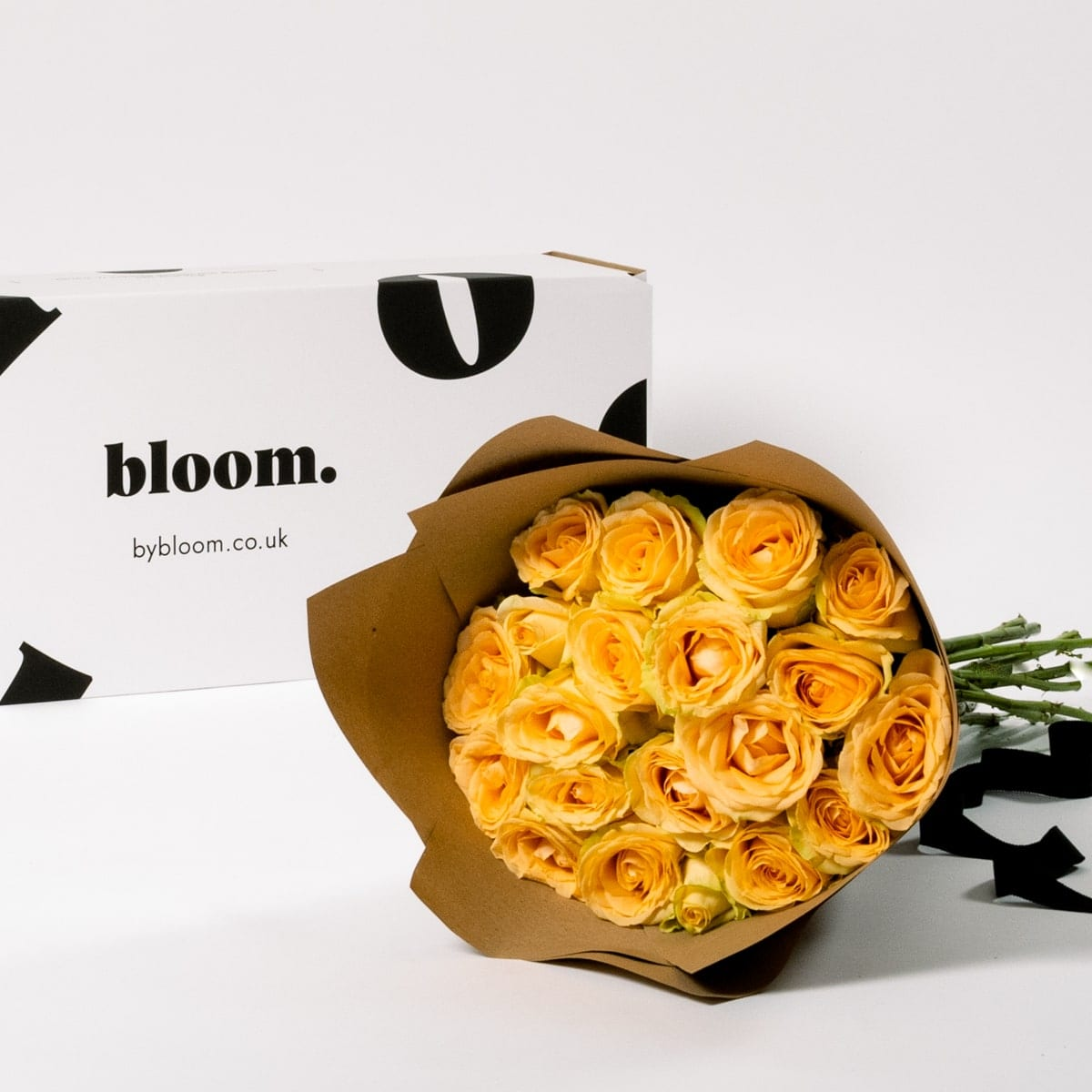 Bloom Flower Delivery | Golden Sunbeam Yellow Roses