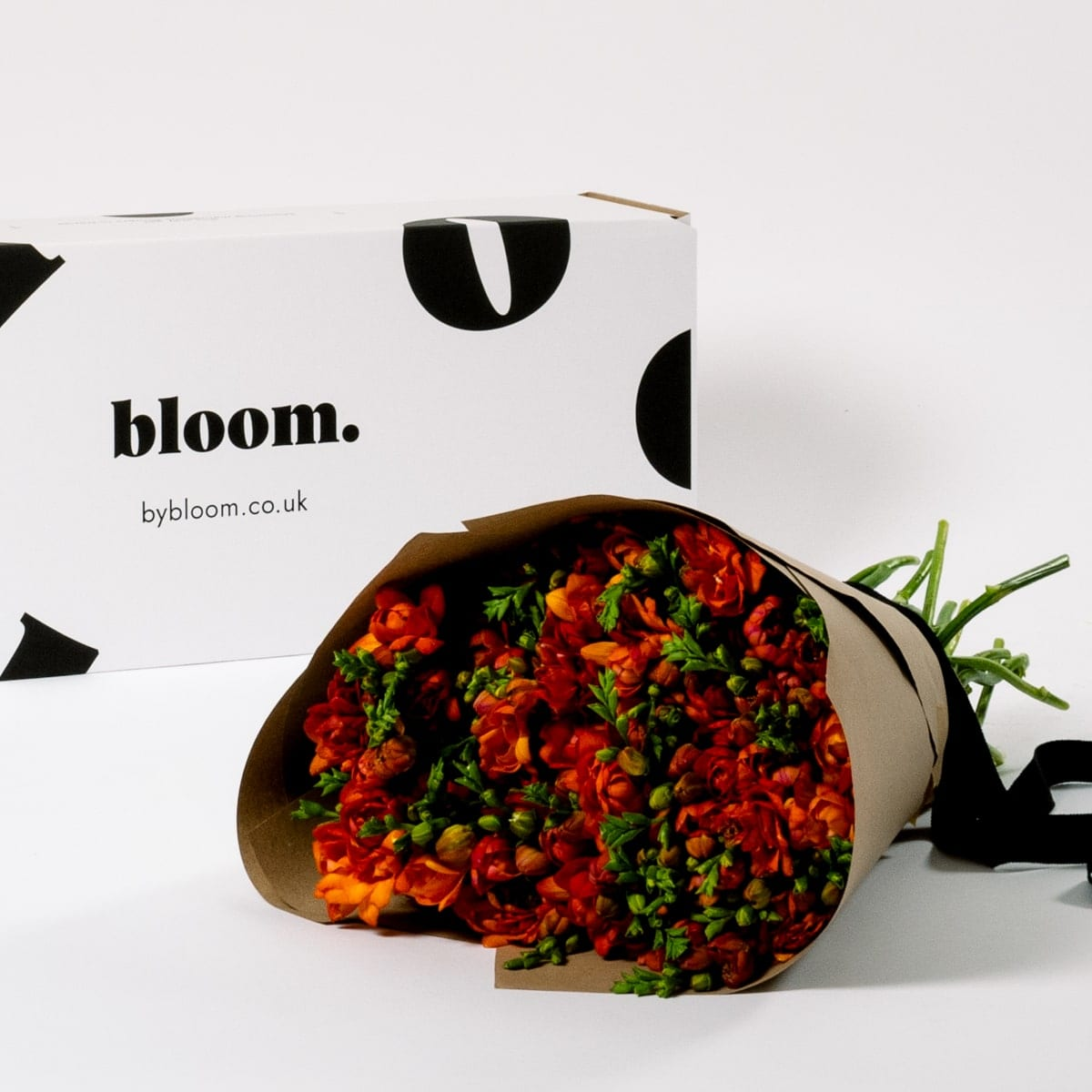 Bloom Flower Delivery | Tangerine Orange Freesia