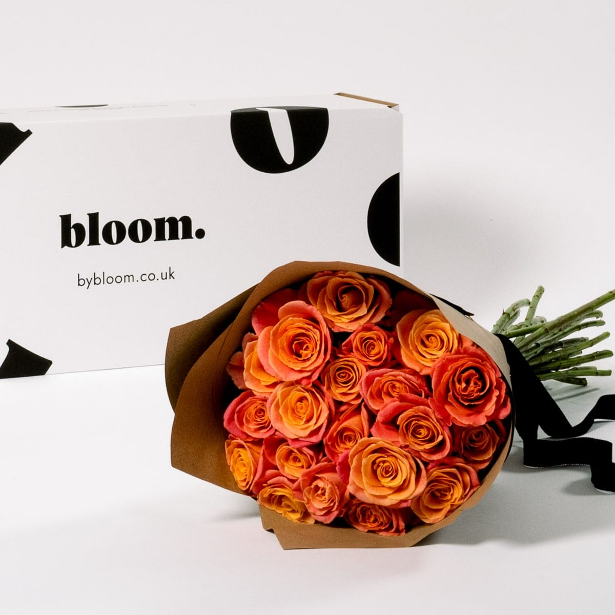 Bloom Flower Delivery | Coral Sunset Roses