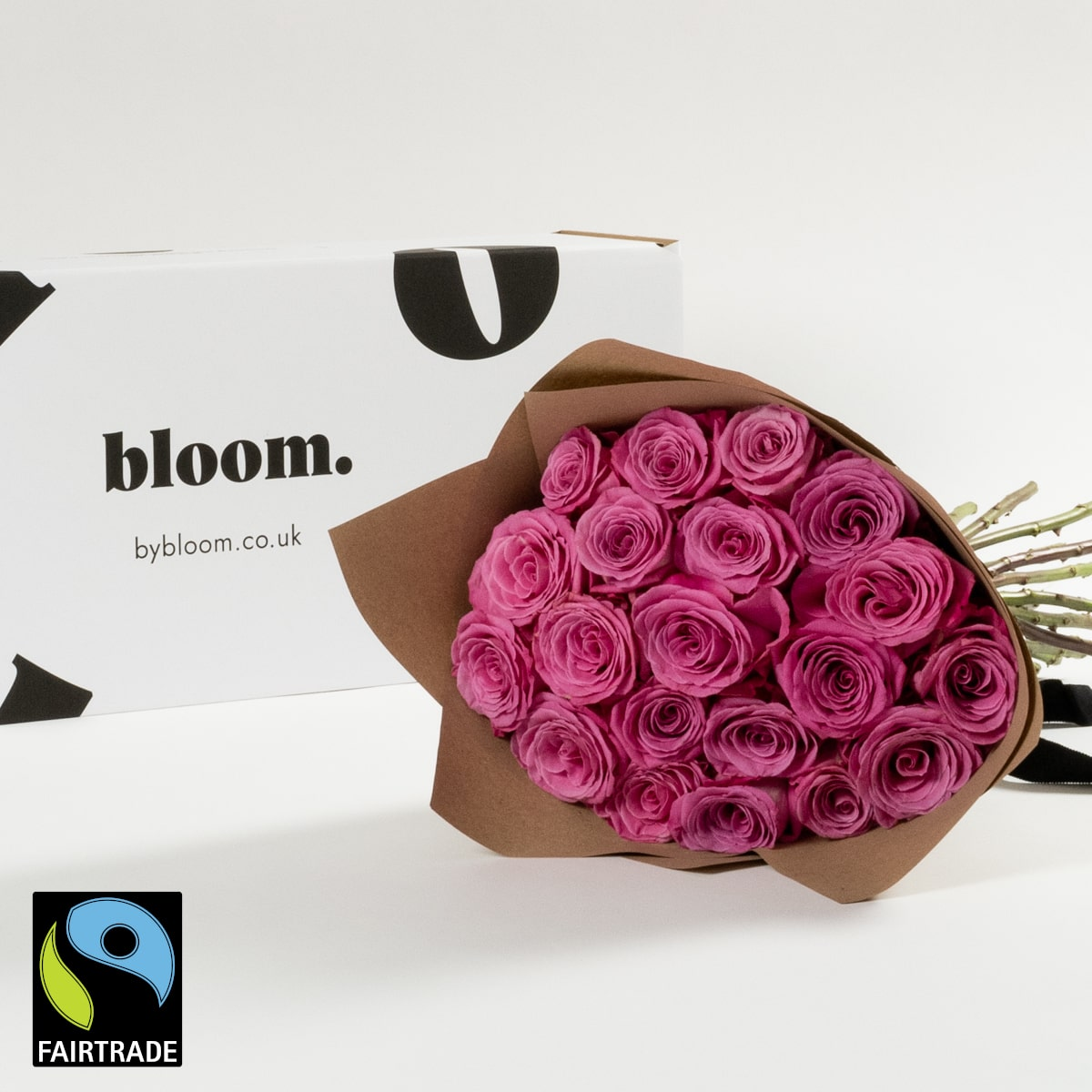 Bloom Flower Delivery | Fairtrade Princess Pink Roses